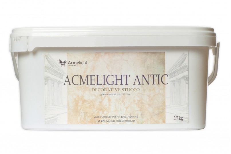 AcmeLight Antic - светящаяся декоративная штукатурка