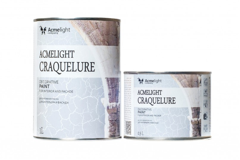 Acmelight Craquelure - декоративная краска
