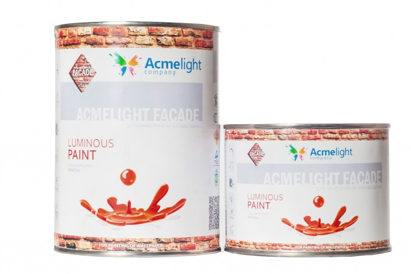 AcmeLight Façade - светящаяся фасадная краска