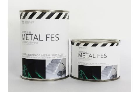 AcmeLight Metal FES - светящаяся краска по металлу для систем безопасности
