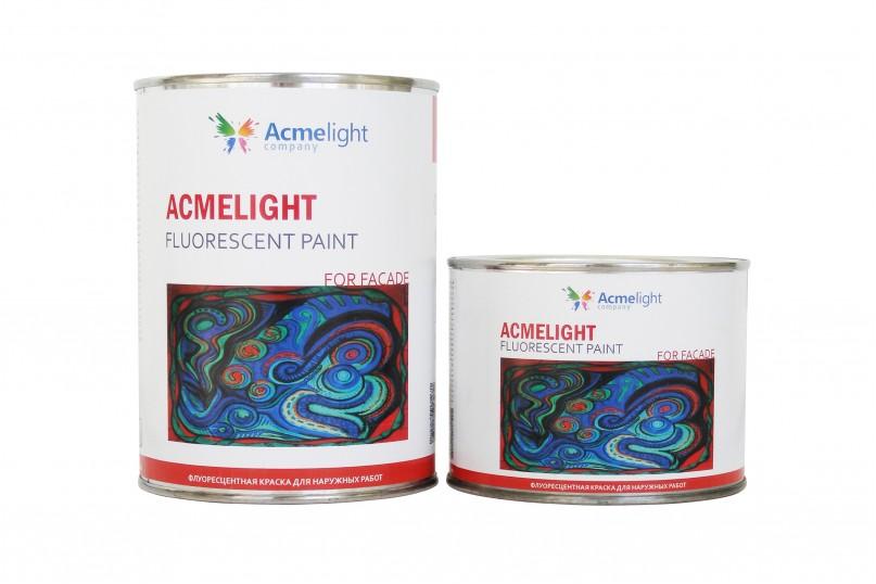 Acmelight Fluorescent paint for Façade - флуоресцентная фасадная краска