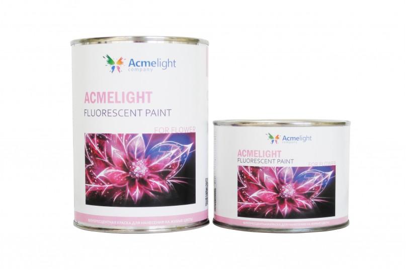 Acmelight Fluorescent paint for Flower - флуоресцентная краска для цветов
