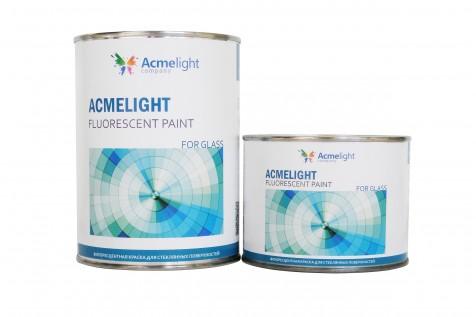 Acmelight Fluorescent paint for Glass - флуоресцентная краска для нанесения на стекло