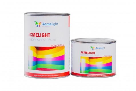 Acmelight Fluorescent paint for Oracal - флуоресцентная краска для печати на пленке оракал