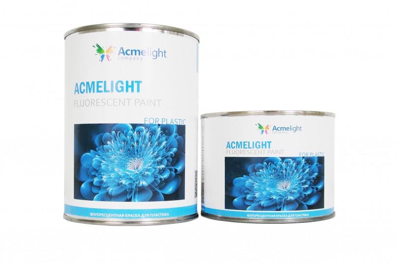 Acmelight Fluorescent Paint for plastic - краска для пластиковых поверхностей