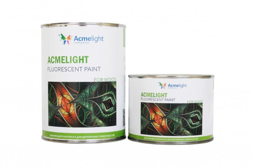 Acmelight Fluorescent paint for Wood – флуоресцентная краска для дерева