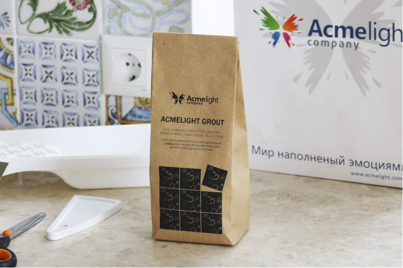 AcmeLight Grout - светящаяся декоративная затирка