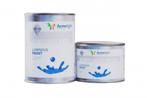 AcmeLight Metal - светящаяся краска для металла