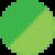 Зеленый с зеленым свечением