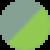 Серо-зеленый с зеленым свечением