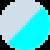 Серо-голубой с голубым свечением