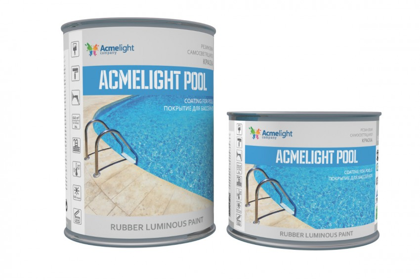 Краска для бассейна AcmeLight Pool