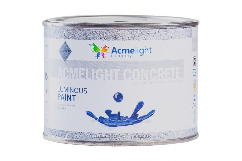 Светящаяся краска для бетона Acmelight Concrete