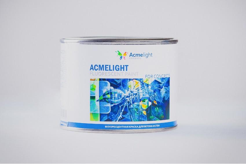 Флуоресцентная краска по бетону Acmelight Fluorescent paint for Concrete
