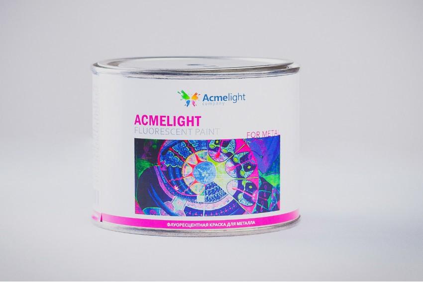Флуоресцентная краска по металлу Acmelight Fluorescent paint for Metal