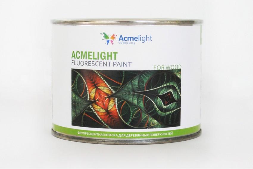 Флуоресцентная краска для дерева Acmelight Fluorescent paint for Wood