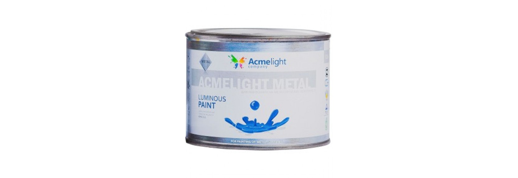 Светящаяся краска по металлу AcmeLight Metal