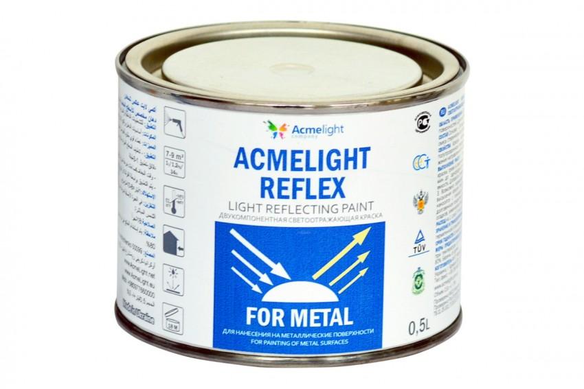 Светоотражающая краска по металлу Acmelight Reflex Metal