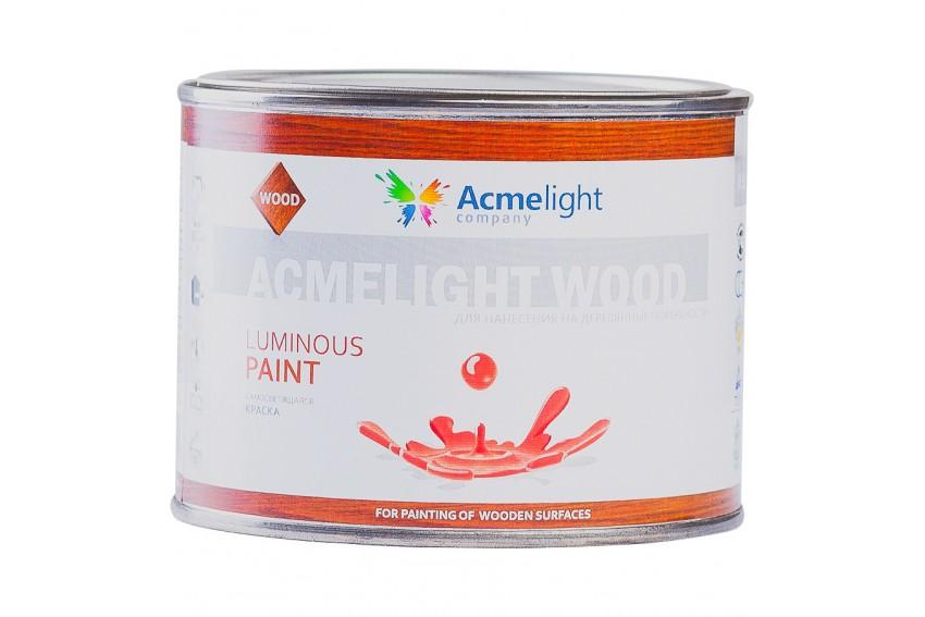 Светящаяся краска по дереву AcmeLight  Wood