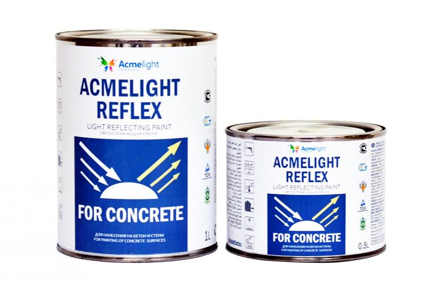 Acmelight Reflex Concrete – светоотражающая краска для бетонных поверхностей