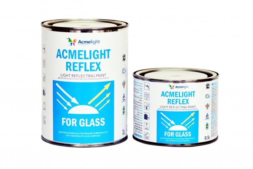 Acmelight Reflex for Glass – светоотражающая краска для стекла