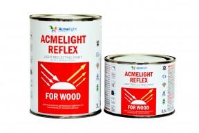 Acmelight Reflex for Wood – светоотражающая краска для деревянных поверхностей