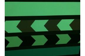 Линейная разметка, фотолюминесцентная лента